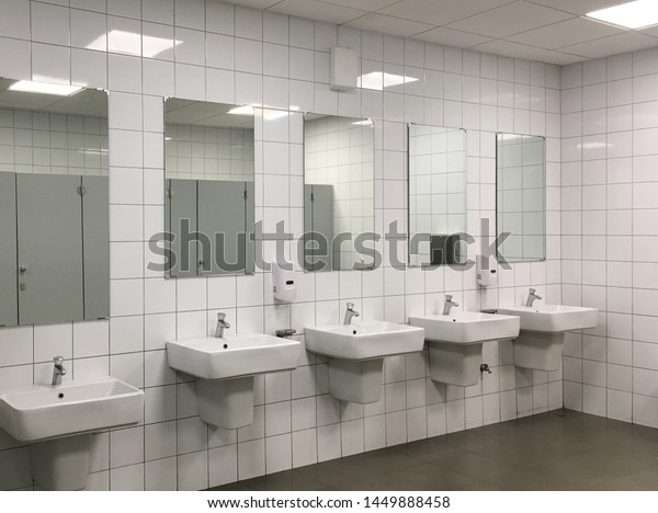 Bathroom Department Store Stock Photo Edit Now 1449888458