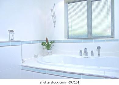Bathroom detail in UK property
