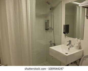 Bathroom in hotel