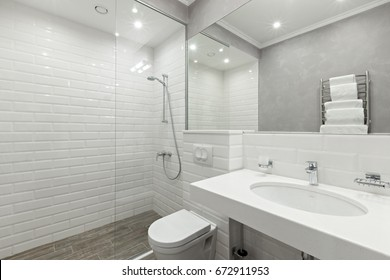 bathroom of the hotel rooms