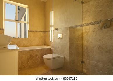 Bathroom inside a modern house