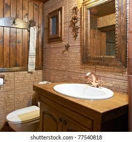 Bathroom interior modern guest house  furniture design