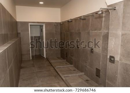 Bathroom Interior Shower Cabin Showers Stock Photo (Edit Now ...