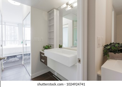 Bathroom modern Interior