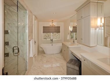 Bathroom in new luxury house