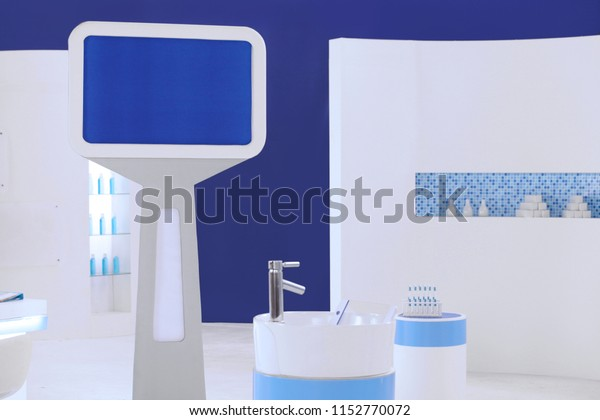Bathroom Setup Next Counter Setup Studio Stock Photo Edit Now 1152770072