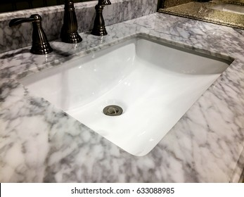 bathroom, sink marble counter