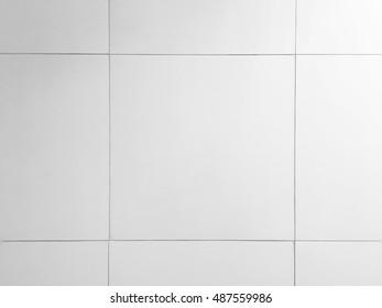 Bathroom tile pattern