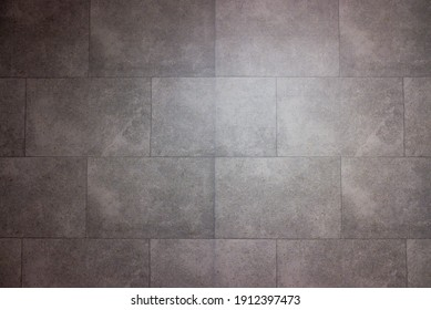 bathroom tiles with neat rectangular patterns