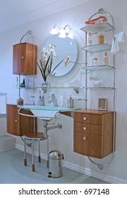 Bathroom units in UK property