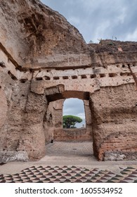 Baths of Caracalla in ancient Rome, Italy
