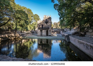 Baths of Fasiladas, place where the celebration of the Epiphany is celebrated annually. Gondar, Ethiopia