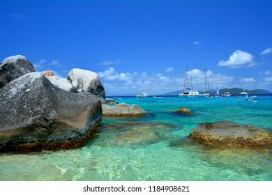 The Baths on Virgin Gorga, British Virgin Islands.