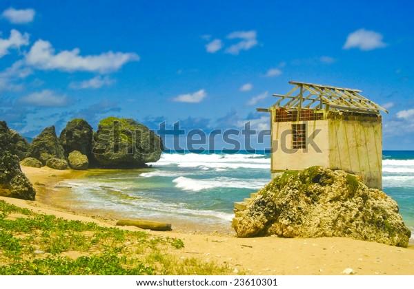 Bathsheba, Barbados east coastline