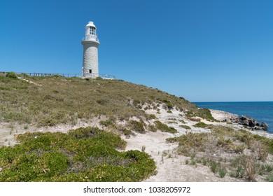 Bathurst Lighthouse on Rottnest Island, Western Australia