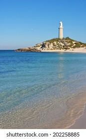 Bathurst Lighthouse is one of two lighthouses on Rottnest Island, Western Australia.