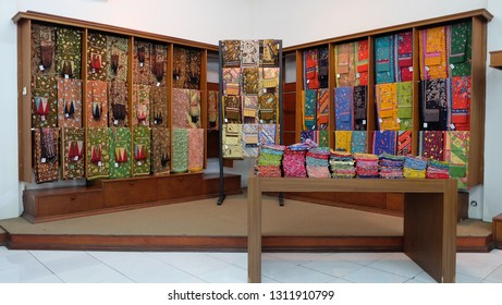 Batik clothes,a popular product for tourists in Bali