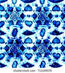 Batik tie dye pattern classic