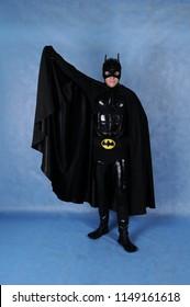 Batman in a suit in the Studio, Moscow June 10, 2014