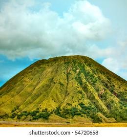 Batok volcano at sunny day. Java. Indonesia