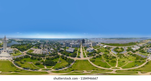 Baton Rouge 360vr spherical equirectangular photo