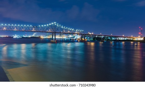 Baton Rouge, Louisiana at night