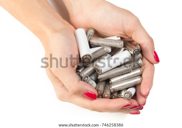 Batteries in hand