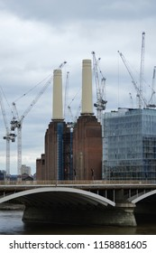 Battersea Power station London, UK August the 15th 2018