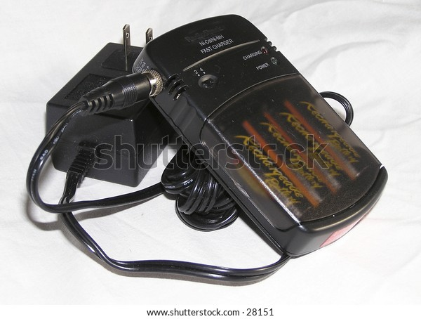 battery charger and batteries