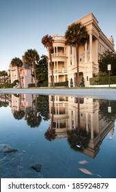 The Battery Charleston South Carolina Lowcountry Historic Antebellum Architecture