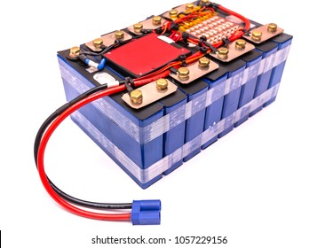 Battery for electric scooter In white background