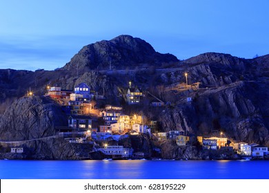 Battery fishing village in St. John's, Newfoundland and Labrador, Canada.