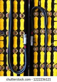Battery for Forklift Electric and Charging Cable.