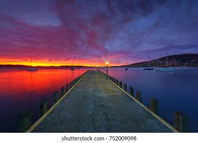 Battery Point sunrise, Tasmania.