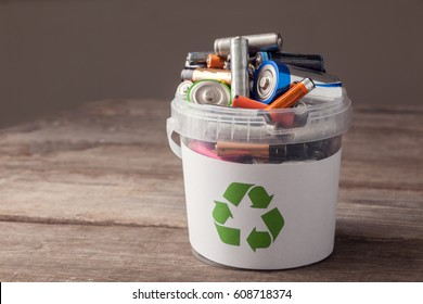 battery recycle bin