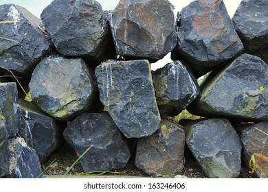 battery rocks