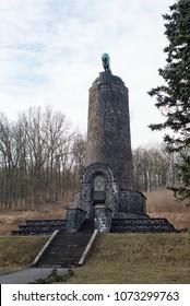 Battle of Chlumec Kulm 1813 public memorial