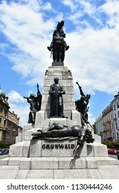the battle of Grunwald,Cracow town,Poland