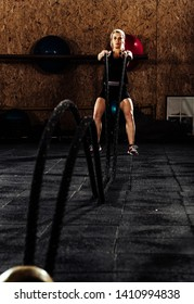 Battle rope training as functional fitness at the crossfit gym