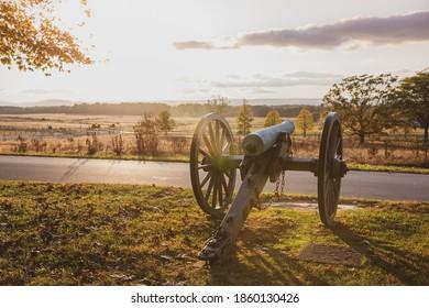 Battlefield at Sunset, Gettysburg National Historical Park
