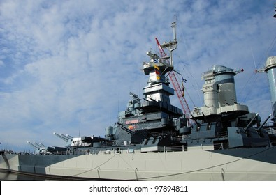 Battleship North Carolina at it's home in Wilmington