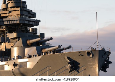 the battleship texas in houston port