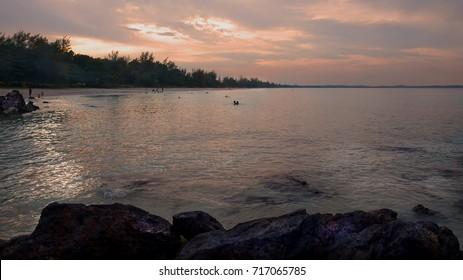 Batu Layar beach, Bandar Penawar, Kota Tinggi, Johore