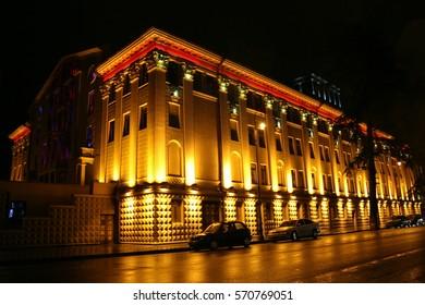 Batumi, Night Time, Day Time, Adjara, Georgia, Caucasus, Europe