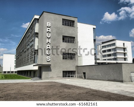 The Bauhaus building in Dessau near Berlin, Germany - high dynamic range HDR