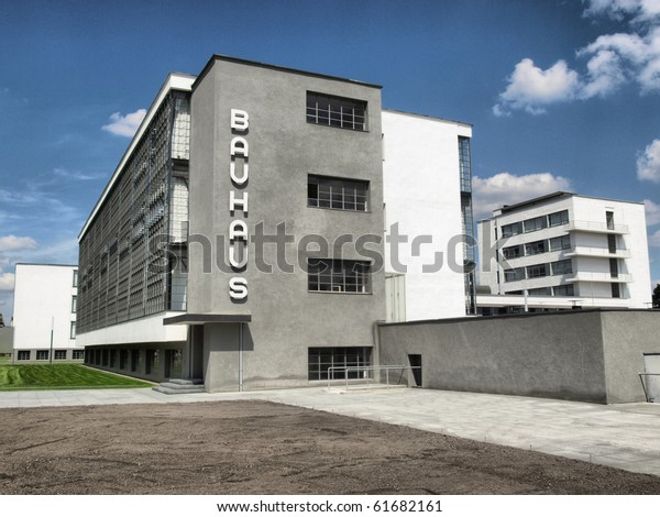 The Bauhaus building in Dessau near Berlin, Germany - high dynamic range HDR