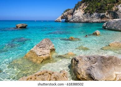Baunei beach, Sardinia, Italy