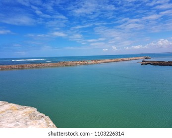 A bautiful view from El Jadida in Morocco
