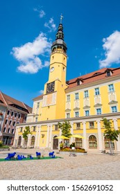 Bautzen, Germany - September 1, 2019: Town Hall of the city of Bautzen in Upper Lusatia, Saxony, Germany