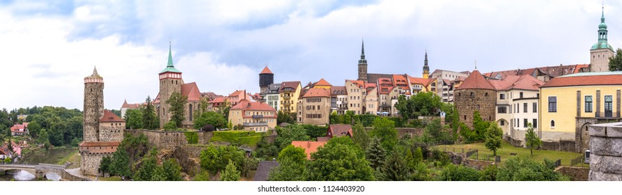 Bautzen is a hill-top town in eastern Saxony, Germany, and administrative centre of the eponymous district. It is located on the Spree River.
